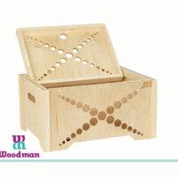 باکس دربدار چوبی خودرنگ